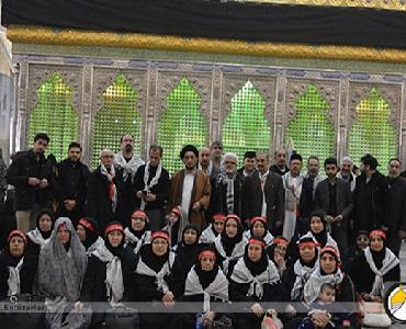اربعین حسینی(ع) کمیونٹی کے اعضا کا امام خمینی(رح) کو خراج تحسین