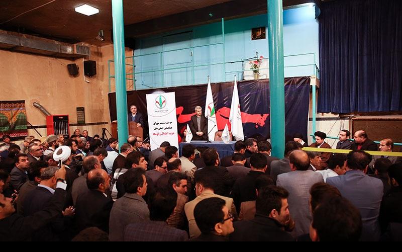 اعتدال وتوسعہ پارٹی کے اعضاء کی یادگار امام سے ملاقات