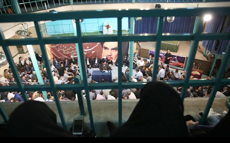 امام جعفر صادق(ع) کی شہادت کی مناسبت سے حسینیہ جماران میں عزاداری