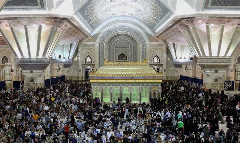 امام خمینی کے مرقد میں رمضان کے انیسویں رات کی تقریب