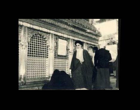 امام خمینی(ره)، محرم میں عزاداری کی تقریبات میں شرکت