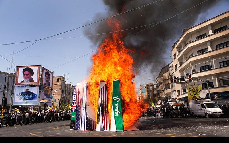 جمعۃ الوداع، تہران میں عالمی یوم القدس کی عظیم ریلی کے مناظر