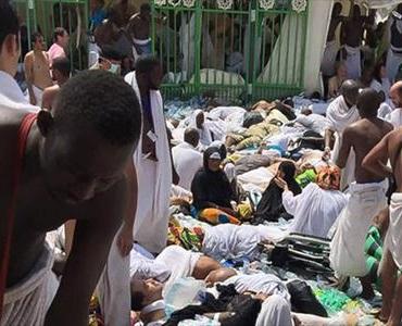 سعودی حکام کی غفلت کی بناپر منی میں سینکڑوں حاجی شہید اور زخمی