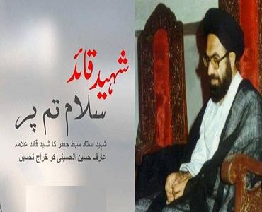 شہید عارف الحسینی، فکر امام خمینی کے خالص اور سچے پیرو تھے
