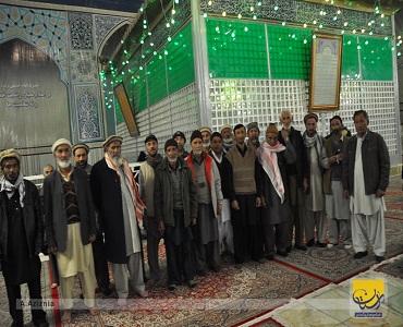 پاکستانی کاروان آل یاسین  کی زیارتگاہ امام(رح) میں حاضری