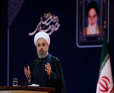 صدر روحانی نے امریکہ اور یورپی ممالک کو تنقید کا نشانہ بنایا