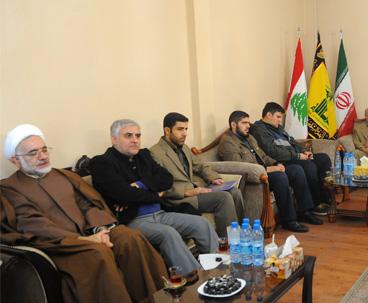 موسسہ تنظیم ونشر آثار امام خمینی(رہ) بین الاقوامی امور کے معاون کی تعزیتی نشست