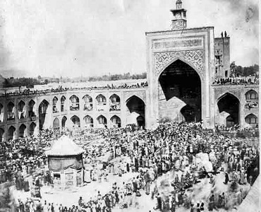 مسجد گوهر شاد کے عظیم خونین قیام