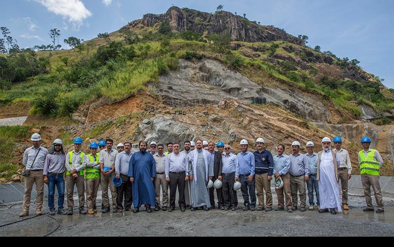 سید حسن خمینی سری لنکا میں ایرانی انجینئرز ڈیم اینڈ اوما اویا پاور پلانٹ کے اجتماع میں