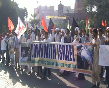 بھرپور انداز میں یوم القدس مناکر پاکستانی عوام نے غیرتمند ہونے کا ثبوت دیا