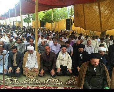 یادگار امام کی امامت میں کراچی میں نماز عیدالفطر