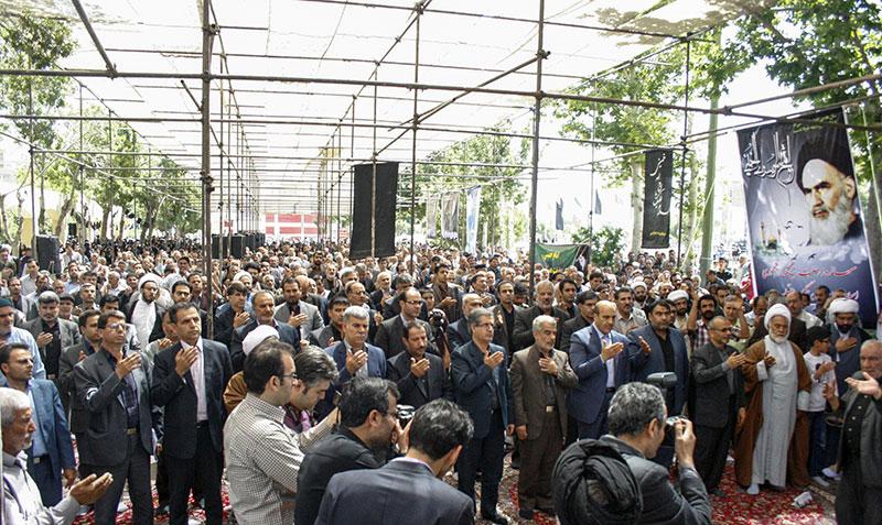 خمین میں امام خمینی (ره) کی رحلت کے 27 ویں برسی کی تقریب