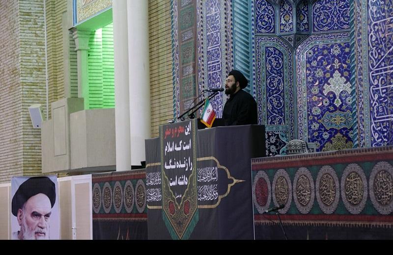 حجت الاسلام والمسلمین سید علی خمینی کی خطابت، معصومہ قم نماز جمعہ میں/۲۰۱۶ء