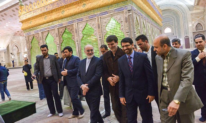 عراقی جنرل انسپکشن کے سربراہ کی امام خمینی(ره) کو خراج تحسین