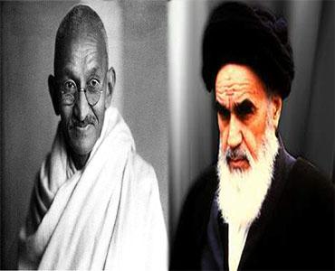 امام خمینی(ره) اور مہاتما گاندھی کی تحریکوں کا فرق