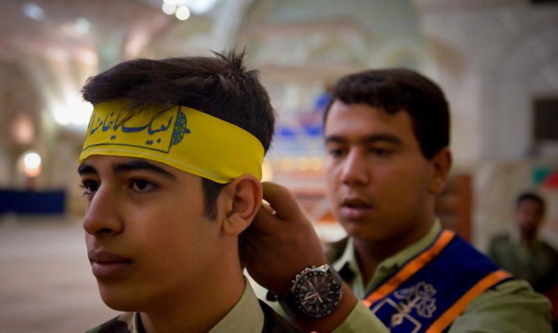بسیج طلباء نے امام خمینی(ره) کے ساتھ تجدید عہد کیا