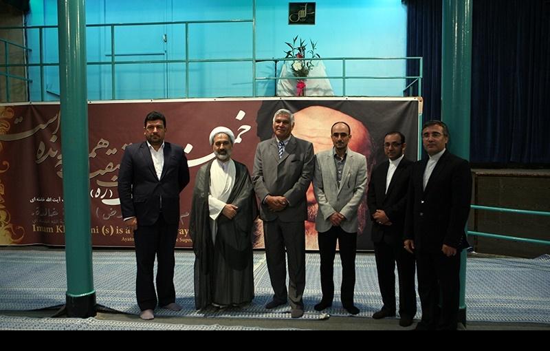 انٹرنیشنل محتسب انسٹی کے صدر جماران میں امام خمینی(رہ) کے گھر کا دورہ پر /2016ء