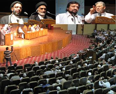 امام خمینی کی ۲۷ویں برسی، کشمیر یونیورسٹی میں انجمن شرعی کے اہتمام سے سمینار کا انعقاد