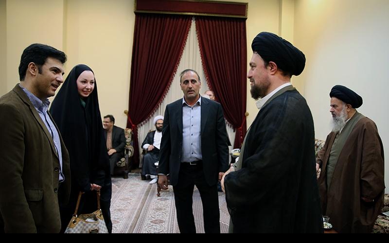 حرم امام خمینی[رح] میں جرمنی خاتون نے اسلام قبول کرلیا