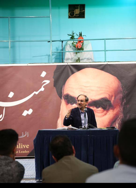 """حسینیہ جماران میں ہفتہ وار نشست، """"قرآن کریم اخلاقی نگاہ میں"""""""
