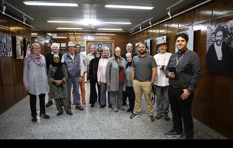 امام خمینی(رح) کی دولت سرا اور جماران حسینیہ میں سیاحوں کی حاضری/۲۰۱۶ء