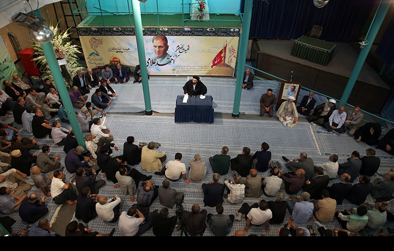 مدافع حرم زینبیہ(س) سردار شہید احمد غلامی کی یاد، حسینیہ جماران میں /۲۰۱۶ء