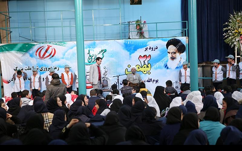 انقلاب اسلامی کی ۳۷ویں سالگرہ کی تقریبات، جماران، خمین اور معصومہ قم میں/۱۳۹۴ھ
