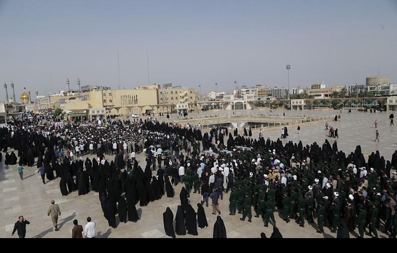 اسلامی جمہوریہ ایران میں دفاع مقدس اور مدافعین حرم زینبی(س) کے شہدا کی تشییع /۲۰۱۶ء