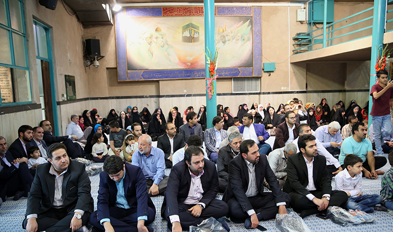 جماران میں عید غدیر خم کی تقریب