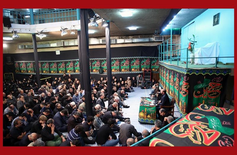 حسینیہ جماران میں عزائے حسینی(ع)، شب تاسوعا /۲۰۱۶ء