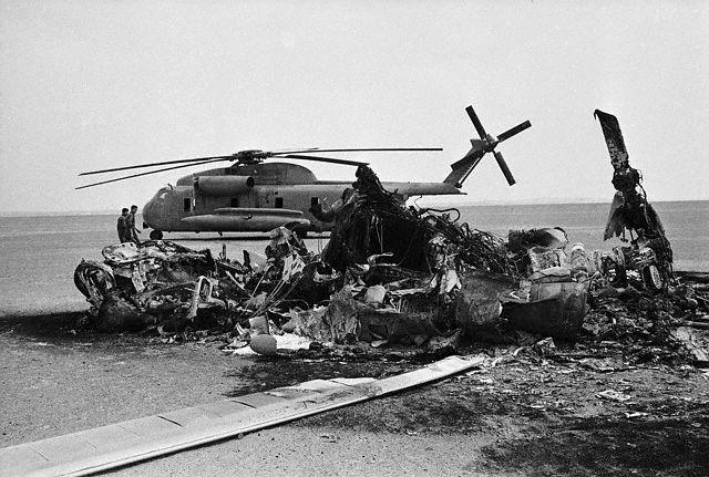 طبس میں امریکہ کا ایران پر  فوجی حملہ کی شکست (24اپریل)