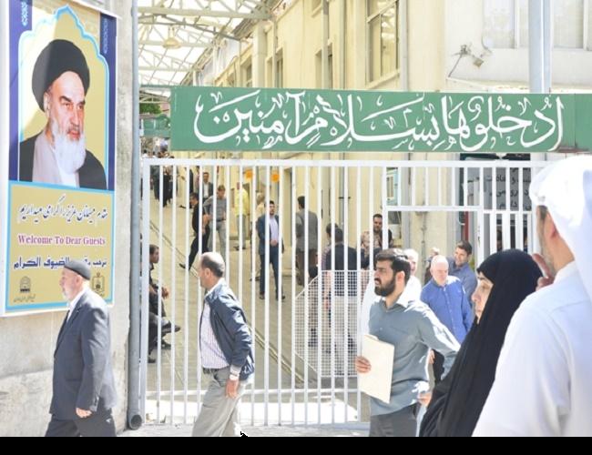 امام خمینی(رح) کی برسی کے شرکاء، امام کے گھر اور حسینیہ جماران میں حاضری