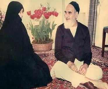 اخلاق کو امام خمینی سے سیکھا ہے