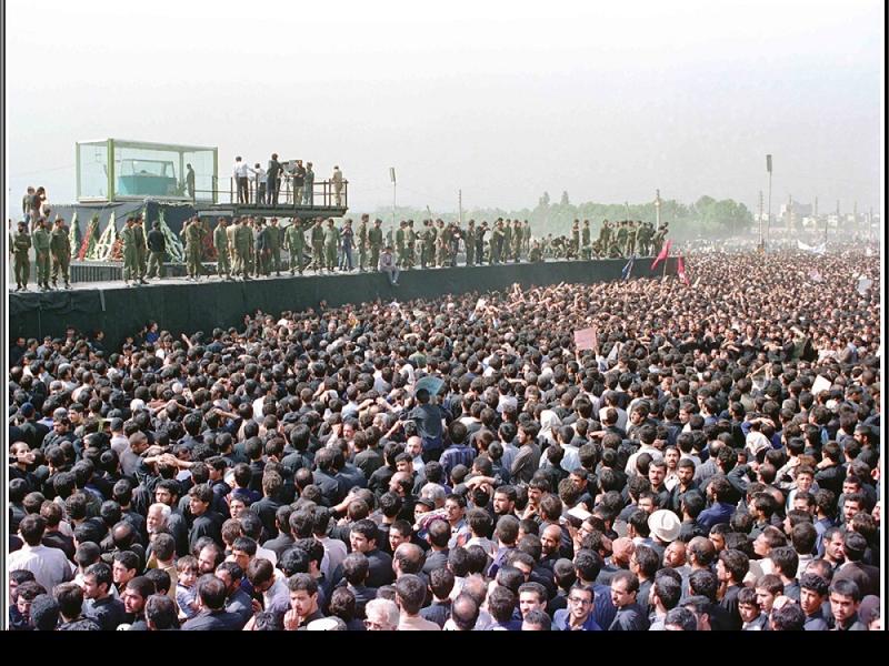 باعظمت اور تاریخی تشییع جنازہ کی بہت کم دیکہی ہوئی تصاویر