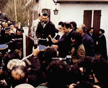 دوران انقلاب، آج بہمن کے ۱۱ویں دن، امام خمینی کے ہمراہ