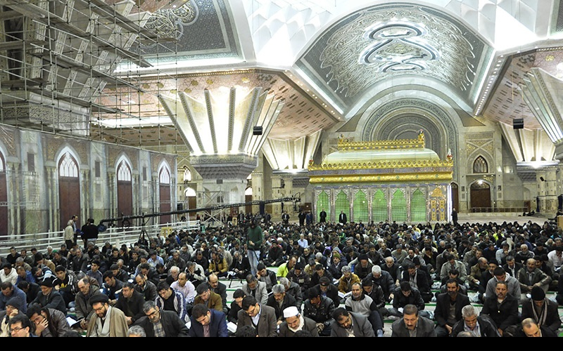 """امام خمینی(رح) کے حرم مطہر میں """"محفل انس با قرآن"""""""