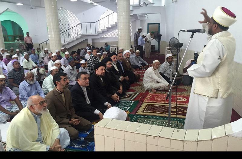 سید حسن خمینی سری لنکا دارالحکومہ کی نماز جمعہ میں شریک ہوئے /2016ء