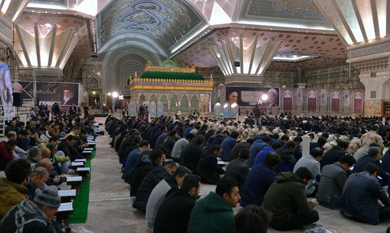 مرقد امام خمینی (ره) میں محفل انس با قرآن