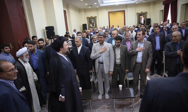 یادگار امام سے وزارت لیبر کے کوآپریٹو معاملات کے ڈپٹی اور ان کے ساتھیوں کی ملاقات