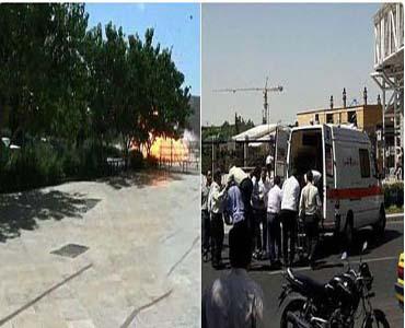 ایرانی پارلیمنٹ اور امام خمینی (ره) کے مزار پر خودکش حملے، 12 افرادشہید