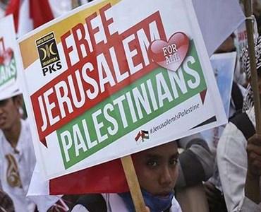 جکارتہ میں عالمی فلسطین کانفرنس، ٹرمپ کے فیصلہ کی شدید مذمت
