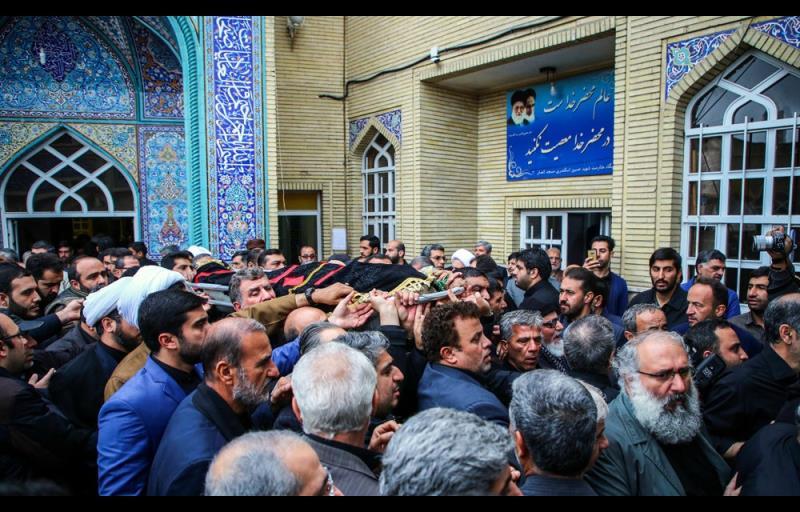 اسلامی جمہوریہ ایران کے سابق صدر احمدی نژاد کے بھائی داوود احمدی نژاد انتقال کرگئے، تشییع جنازہ کی تصویری رپورٹ /۲۰۱۷ء