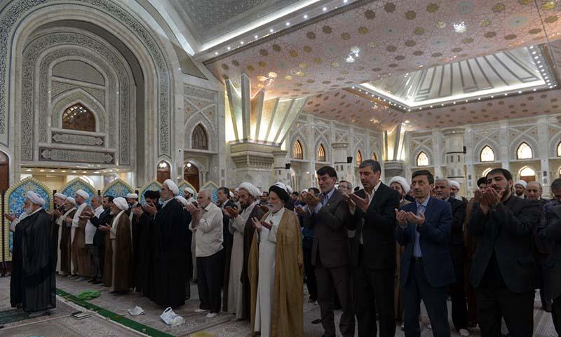 امام خمینی (ره) اور شہداء کے ساتھ، کمیتہ امداد امام خمینی (ره) کے چیف اور کارکنوں کی تجدید میثاق