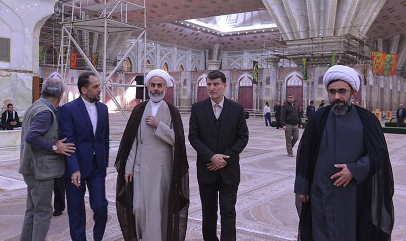 امام خمینی (رح) کی تمناوں کے ساتھ ادارہ اوقاف اور امور خیریہ کے مسئولین کا تجدید عہد