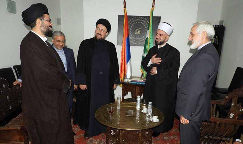 یادگار امام(رح) کی سربیا کے مذہبی رہنماؤں سے ملاقات
