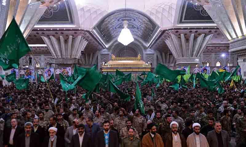 حرم امام خمینی (رح) میں ہفتہ بسیج کی تقریب /2017ء