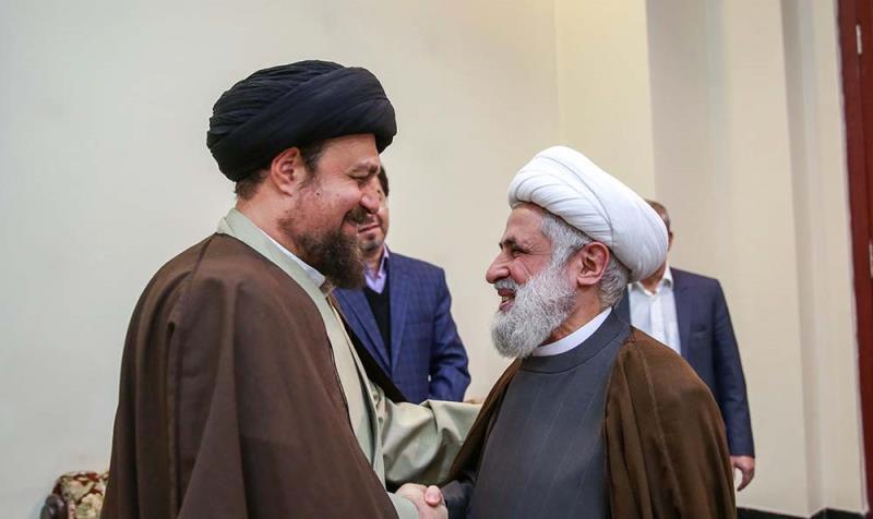عالمی وحدت اسلامی کانفرنس کے شرکاء کی سید حسن خمینی سے ملاقات