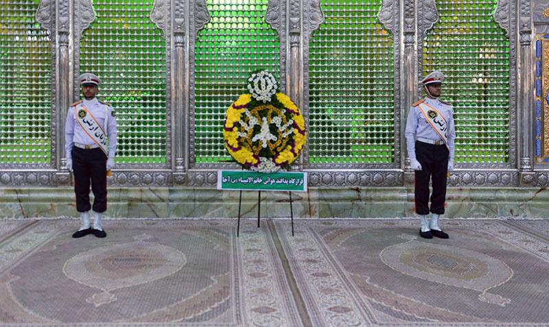 امام خمینی(رح) سے خاتم الانبیاء (ص) کے ائیر ڈفینس کے کمانڈرز کی تجدید میثاق