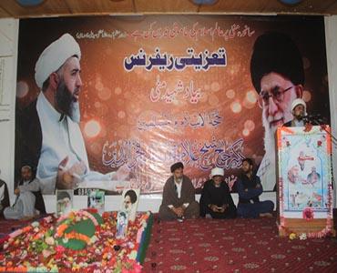 شہید فخرالدین نظریہ پاکستان کے محافظ اور ارض شمال میں قافلۂ خمینی (رح)کے سپہ سالار تھے