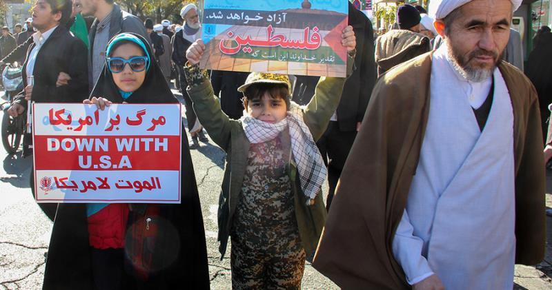 امریکی صدر کے اقدام کے خلاف مسلم ملکوں میں احتجاجی مظاہرے
